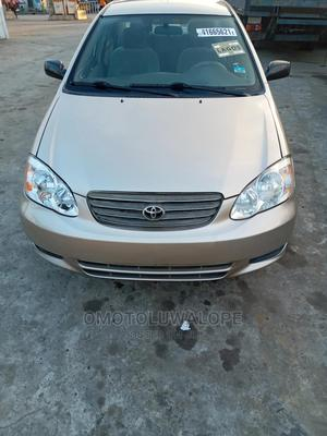 Toyota Corolla 2004 Gold | Cars for sale in Lagos State, Kosofe