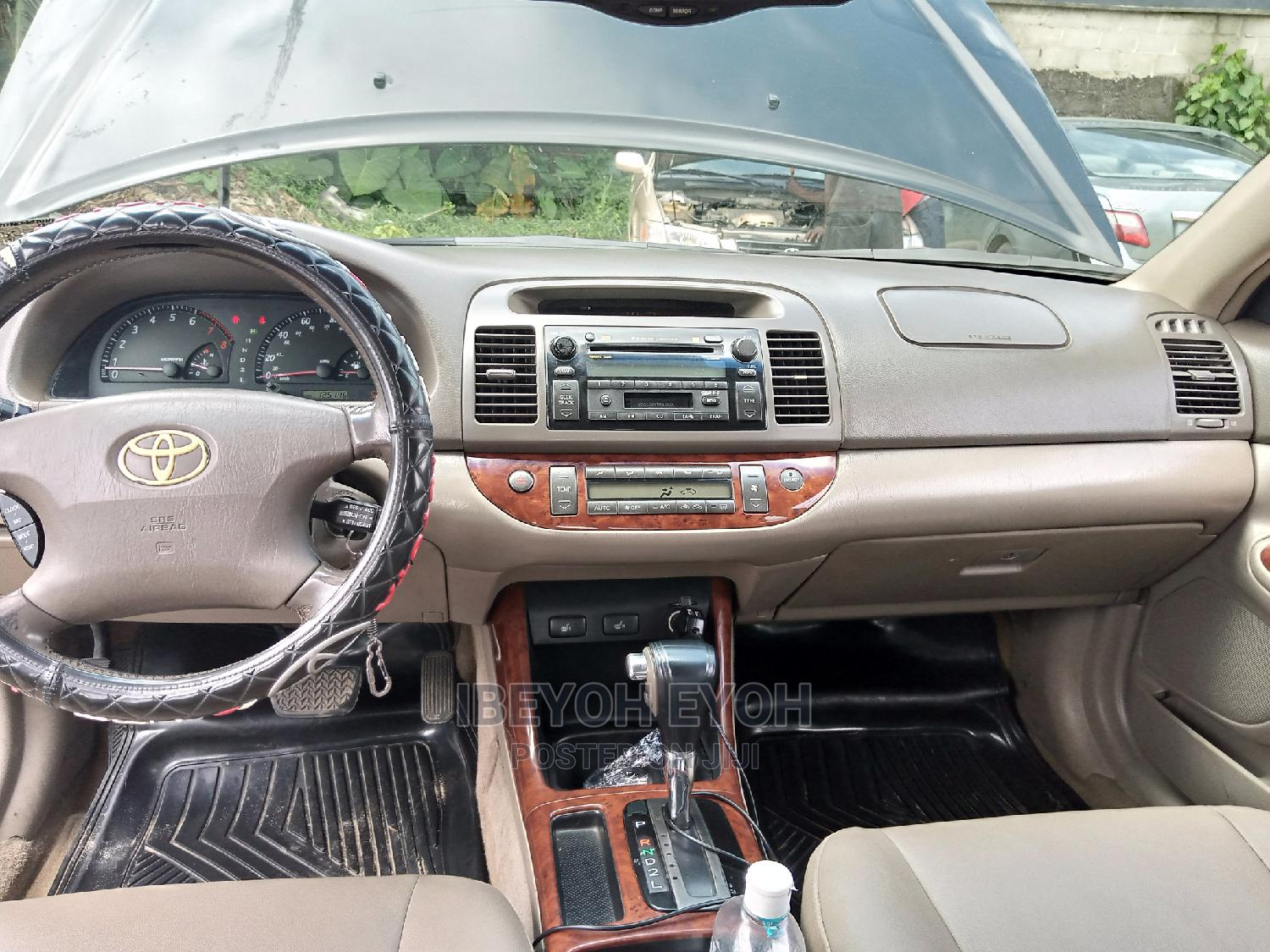 Toyota Camry 2003 Black | Cars for sale in Obio-Akpor, Rivers State, Nigeria