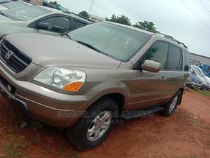 Honda Pilot 2005 EX-L 4x4 (3.5L 6cyl 5A) Gold | Cars for sale in Benue State, Makurdi