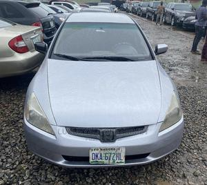 Honda Accord 2005 Silver | Cars for sale in Lagos State, Ifako-Ijaiye