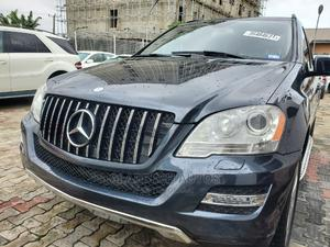 Mercedes-Benz M Class 2010 ML 350 4Matic Blue | Cars for sale in Lagos State, Ajah