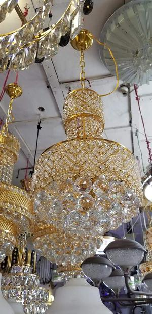Gold Crystal Chandelier | Home Accessories for sale in Lagos State, Ifako-Ijaiye