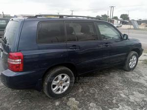 Toyota Highlander 2003 V6 FWD Blue | Cars for sale in Lagos State, Ajah