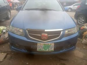 Honda Accord 2004 2.4 Type S Blue | Cars for sale in Lagos State, Abule Egba