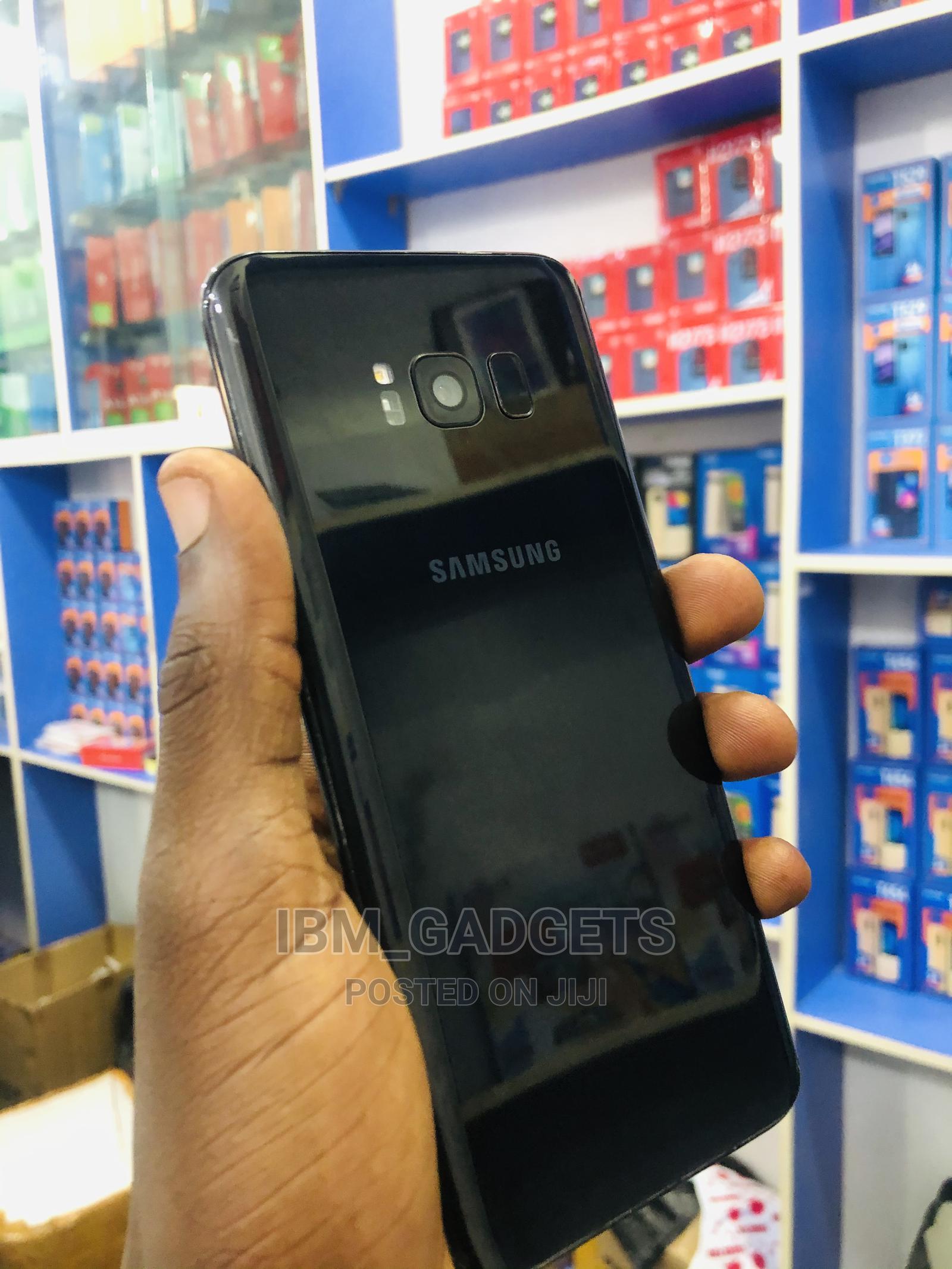 Samsung Galaxy S8 Plus 64 GB Black   Mobile Phones for sale in Kaduna / Kaduna State, Kaduna State, Nigeria