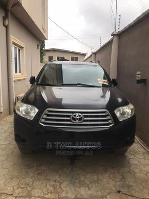 Toyota Highlander 2009 V6 Black | Cars for sale in Lagos State, Alimosho