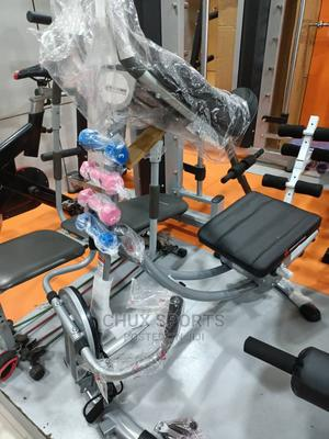 A.B Coaster With Dumbbell Twister   Sports Equipment for sale in Lagos State, Ikeja
