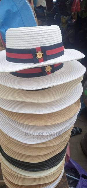 Beach Hat With Red And Blue Ribbon   Clothing Accessories for sale in Lagos State, Mushin
