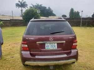 Mercedes-Benz M Class 2007 ML 500 4Matic Red | Cars for sale in Kaduna State, Kaduna / Kaduna State