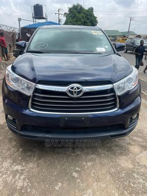 Toyota Highlander 2014 Blue | Cars for sale in Lagos State, Ogba