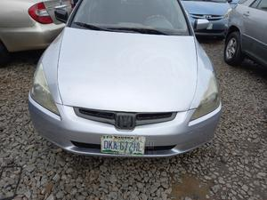 Honda Accord 2004 Automatic Silver | Cars for sale in Lagos State, Ogba