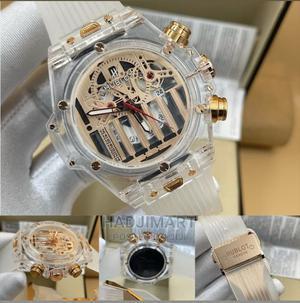 Hublot Transparent Rubber Strap | Watches for sale in Lagos State, Lagos Island (Eko)
