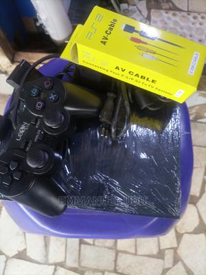 PS 2 Game With 3games Installed | Video Game Consoles for sale in Abuja (FCT) State, Wuse