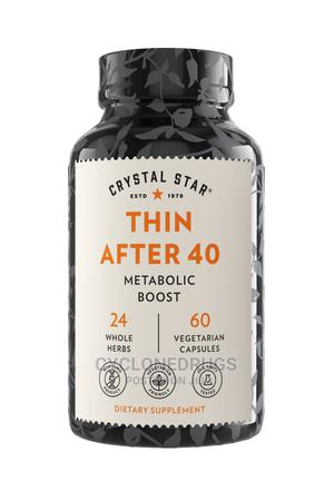 Crystal Star Thin After 40 60 Capsules Kickstart Your Metabo   Vitamins & Supplements for sale in Lagos State, Amuwo-Odofin