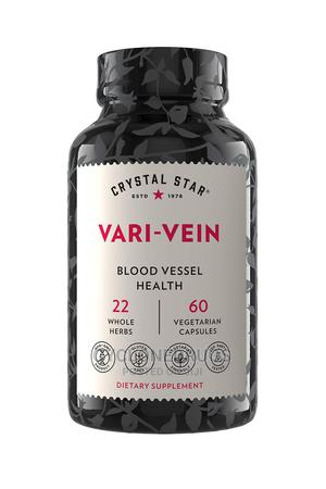 Crystal Star Vari-Vein 60 Cap Herbal Circulation Varicose    Vitamins & Supplements for sale in Lagos State, Amuwo-Odofin