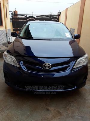 Toyota Corolla 2012 Blue | Cars for sale in Lagos State, Agboyi/Ketu