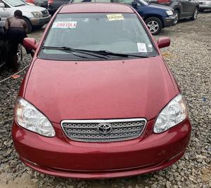 Toyota Corolla 2007 CE Red | Cars for sale in Lagos State, Ifako-Ijaiye