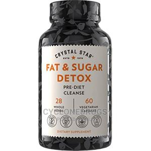 Crystal Star Fat Sugar Detox 60 Caps Diet Cleanse Metabo   Vitamins & Supplements for sale in Lagos State, Amuwo-Odofin
