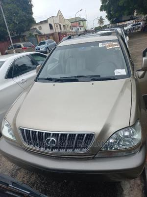 Lexus RX 2002 300 4WD Gold | Cars for sale in Lagos State, Amuwo-Odofin