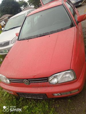 Volkswagen Golf 2002 2.0 GL 3-Door Automatic Red | Cars for sale in Abuja (FCT) State, Garki 2