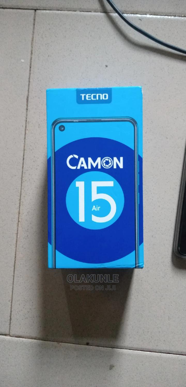 Tecno Camon 15 Air 64 GB Black | Mobile Phones for sale in Ibadan, Oyo State, Nigeria