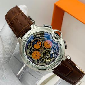 Cartier Genuine Automatic Leather Wrist Watch High Quality | Watches for sale in Lagos State, Lagos Island (Eko)
