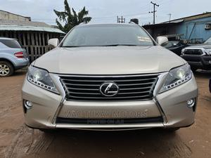 Lexus RX 2015 350 FWD Gold   Cars for sale in Lagos State, Ikeja