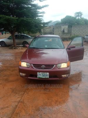 Toyota Corolla 2001 Sedan Red | Cars for sale in Abuja (FCT) State, Kubwa