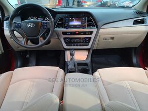 Hyundai Sonata 2015 Burgandy   Cars for sale in Lagos State, Ikeja