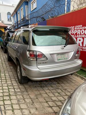 Lexus RX 2001 300 4WD Silver | Cars for sale in Lagos State, Ikeja