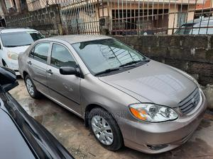 Toyota Corolla 2003 Sedan Automatic Gold | Cars for sale in Lagos State, Isolo