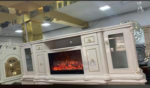 Artificial Fireplace TV Stand | Stage Lighting & Effects for sale in Lagos State, Ipaja