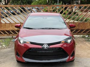 Toyota Corolla 2017 Red | Cars for sale in Abuja (FCT) State, Central Business District