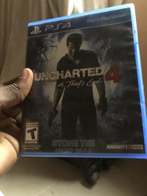 Uncharted 4 - Ps4 | Video Games for sale in Lagos State, Abule Egba