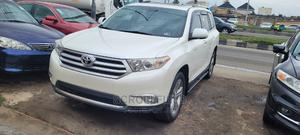 Toyota Highlander 2013 White | Cars for sale in Lagos State, Surulere