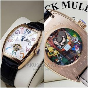 Franck Muller Genuine Leather Wrist Watch High Quality | Watches for sale in Lagos State, Lagos Island (Eko)