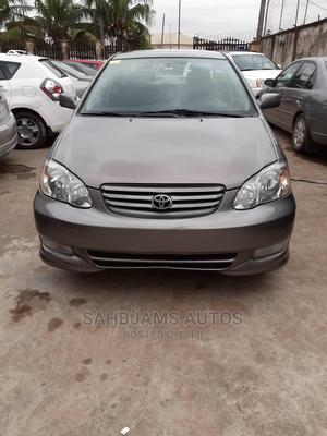 Toyota Corolla 2003 Sedan Automatic Gray   Cars for sale in Lagos State, Isolo