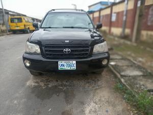 Toyota Highlander 2003 Limited V6 FWD Black   Cars for sale in Lagos State, Surulere