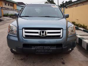 Honda Pilot 2007 EX-L 4x4 (3.5L 6cyl 5A) Blue | Cars for sale in Lagos State, Gbagada