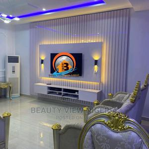 TV Console/Wall Cladding Design | Furniture for sale in Abuja (FCT) State, Central Business District