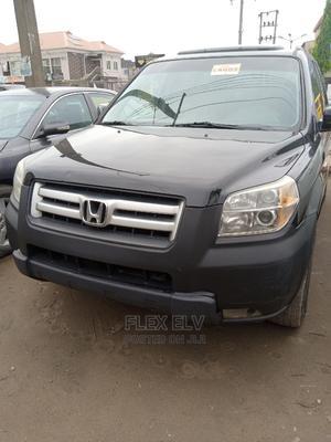 Honda Pilot 2007 EX-L 4x4 (3.5L 6cyl 5A) Black | Cars for sale in Lagos State, Ikeja