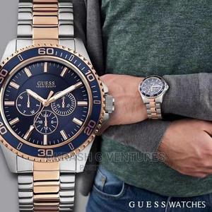 Guess Collection (GC) Chronograph Rose Gold/Silver Watch   Watches for sale in Lagos State, Lagos Island (Eko)