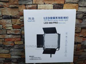 New Pro 660 LED LIGHT, 60W That Use Light or Sony Battery,   Stage Lighting & Effects for sale in Lagos State, Ogba
