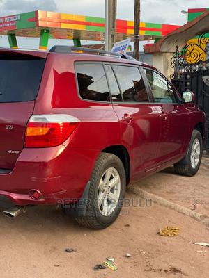 Toyota Highlander 2008 4x4 Red | Cars for sale in Edo State, Benin City