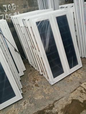 4ft by 4ft Casement Window With Burglary | Windows for sale in Lagos State, Agege