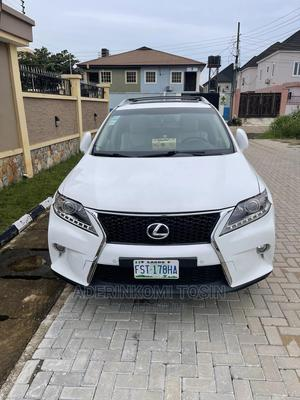 Lexus RX 2014 350 FWD White   Cars for sale in Lagos State, Ojodu