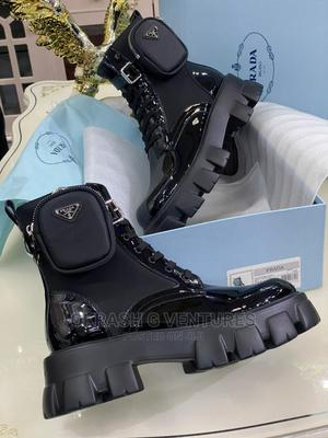 Prada Leather Ankle Boot for Men's   Shoes for sale in Lagos State, Lagos Island (Eko)