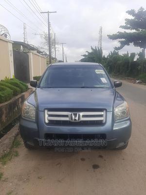 Honda Pilot 2006 EX 4x4 (3.5L 6cyl 5A) Blue | Cars for sale in Lagos State, Ilupeju