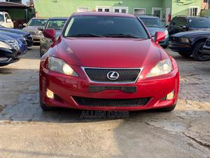 Lexus IS 2007 250 Red | Cars for sale in Lagos State, Ogba