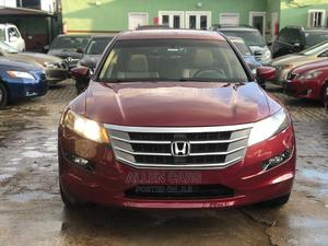 Honda Accord Crosstour 2010 EX-L AWD Red | Cars for sale in Lagos State, Ogba